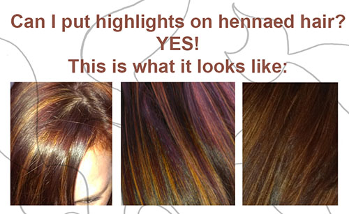 Henna for hair: Can I highlight over my hennaed hair? - Hennacat