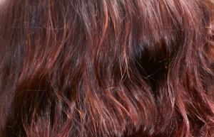 Shiny hennaed red hair from Hennacat henna shop